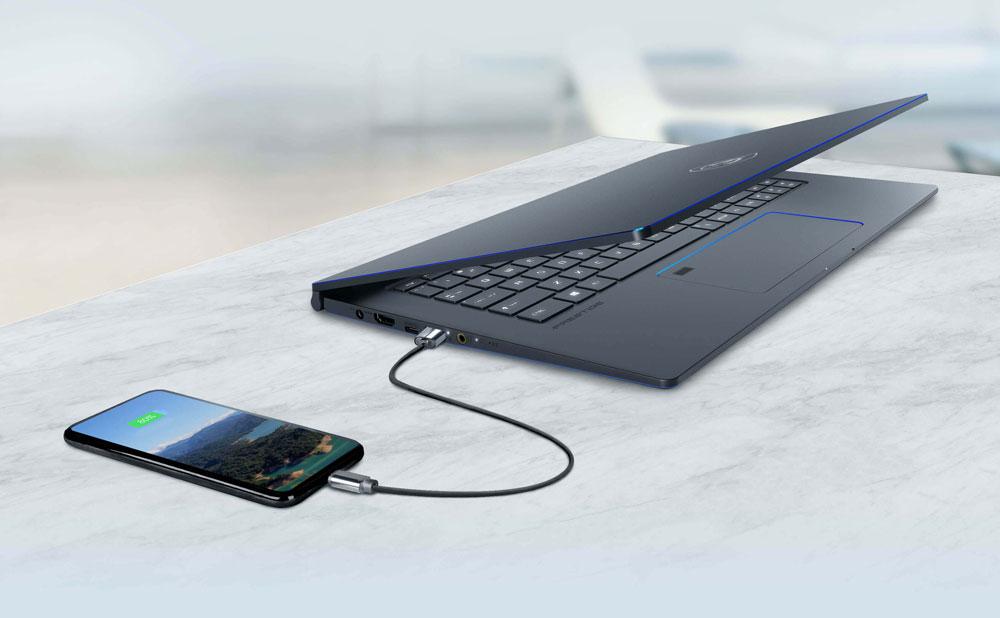MSI-PS63-Modern-8 sạc nhanh