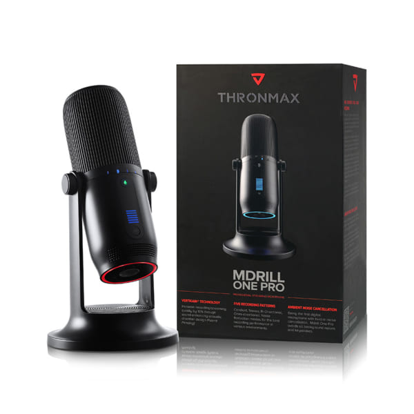 Thronmax Mdrill One Pro Jet Black-2