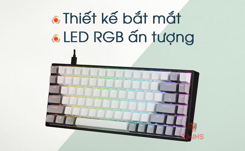 Bàn phím cơ E-Dra EK384 | LED RGB ấn tượng