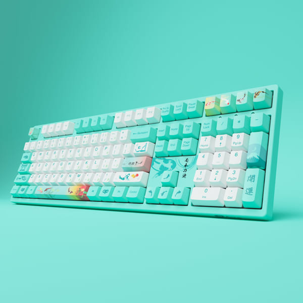 AKKO-3108-v2-Monet's-Pond-(Akko-sw-v2)-keyboard-5
