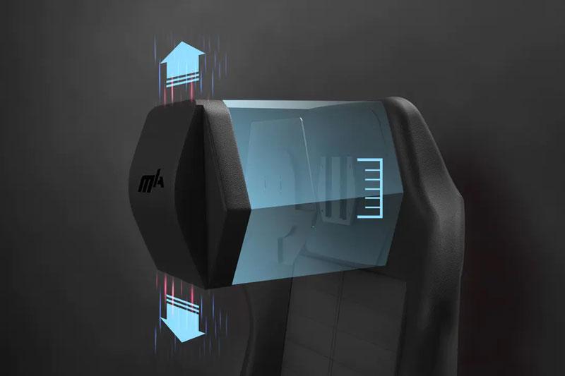 Gối tựa đầu được thiết kế hoàn hảo | DXRacer Master Series