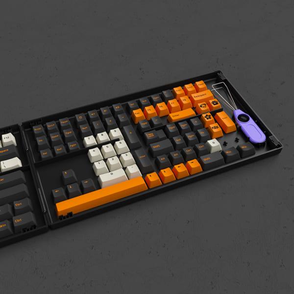 set-keycap-akko-carbon-retro-pbt-double-shot-cherry-profile-229-nut-1
