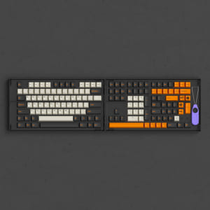 set-keycap-akko-carbon-retro-pbt-double-shot-cherry-profile-229-nut