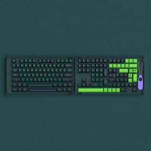 set-keycap-akko-wave-sonic-pbt-double-shot-asa-profile-229-nut