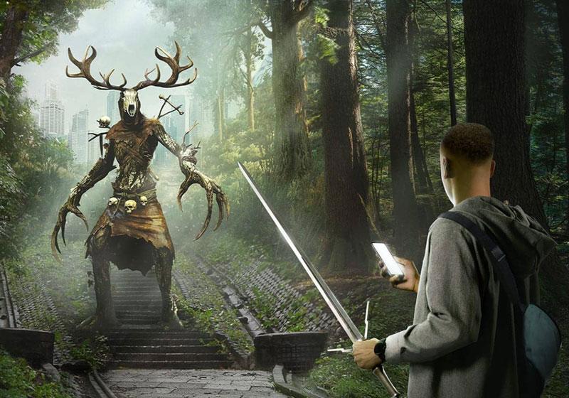 Người chơi sẽ trải nghiệm giết quái vật ở thế giới thực