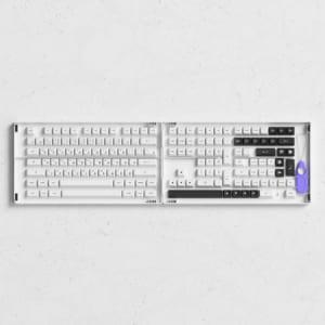 set-keycap-akko-black-on-white-bow-pbt-double-shot-asa-profile-158-nut
