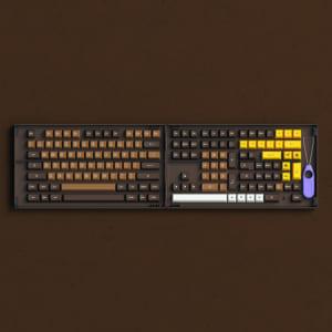 set-keycap-akko-chocolate-pbt-double-shot-asa-profile-178-nut
