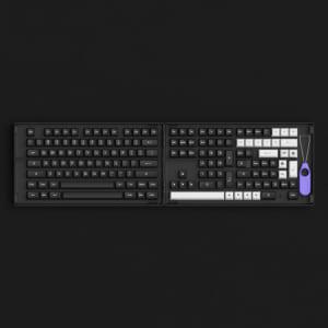 set-keycap-akko-white-on-black-wob-pbt-double-shot-asa-profile-158-nut